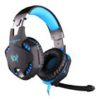 G2100 Gaming Headset Stereo Sound Headphone with Noise-cancelling Mic LED