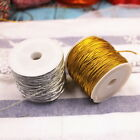 25M Elastic Gift Wrapping Cord Party Present  Gold Silver Ornaments