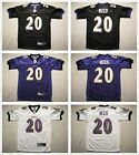 Youth's Baltimore Ravens #20 Ed Reed Stitched Jersey Black/Purple/White $19.99 USD on eBay