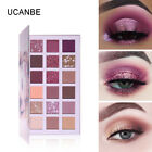UCANBE Matte Shimmer Eye Shadow Palette Eye Shadows 18 Colors Makeup Cosmetic LM