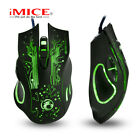 2400DPI LED Optical 6D USB Wired Gaming Game Mouse Mice For PC Laptop