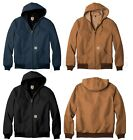 Carhartt - Men's Thermal Lined Duck Active JACKET, Hooded, S-6XL, LT-3XLT, J131