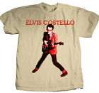 Elvis Costello T-shirt Free Shipping 80's new wave punk rock cotton graphic tee