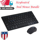 Ergonomic Optical Gaming Wireless Bluetooth Keyboard And Mouse Set