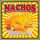 Nachos DECAL (Choose Your Size) S Concession Food Truck Vinyl Sign Sticker