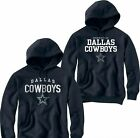 NWT DALLAS COWBOYS JERSEY NAVY BLUE HOODIE SWEATSHIRT on eBay