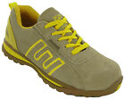 MENS SAFETY S1 TRAINERS SHOES LIGHWEIGHT CUSHIONED WORK INDUSTRIAL GROUNDWORK