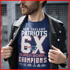 Super Bowl 53 Champions 2019 T-Shirt New England Patriots S-6XL Football Fan image