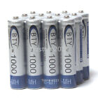 4-20pcs NiMH AAA 1000mAh BTY Rechargeable Battery