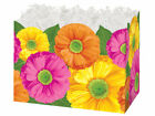 GERBER DAISIES gift Basket Box With Crinkle Shred Choose Size & Shred Color