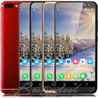 "6.0"" Cheap Large Screen Android 8.1 Cell Phones 4Core 2SIM Smartphone Unlocked"