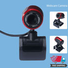 Desktop USB 2.0 HD Webcam Camera Video With Mic For Computer PC Laptop CMOS