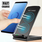Qi Wireless Fast Charger Charging Pad Stand Dock For Galaxy S9+ iPhone X XS Max