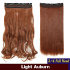 Clearance Black Dark Ombre Light 100% Real Natural Clip in Hair Extensions h3g2