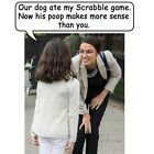 Anti Liberal Pro Trump Conservative AOC SCRABBLE DOG POOP Funny Political Shirt