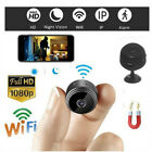 HD 1080P Mini Hide Wireless Wifi Security Cam Night Vision Motion Detects Camera