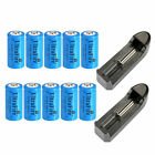 UltraFire 16340 Battery 1800mAh CR123A Rechargeable 3.7V Li-ion Bat Cell Charger
