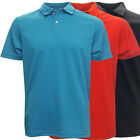 PGA Tour Men's Performance Textured Solid Polo Golf Shirt,  Brand New