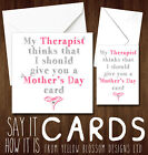 Funny Mother's Day Greeting Cards Joke Rude Step Mum Nanny Birthday Son Daughter