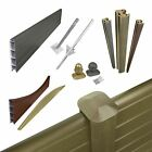Plastic Composite Fence Boards Eco Fencing Replacement Upvc Garden Panels & Post