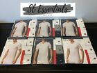 Tommy Hilfiger 3 Pack T Shirt Crew Neck or V Neck Size Small - XL