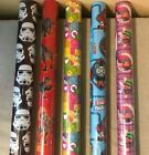 4m - 16m CHARACTER TROLLS THOMAS DINOSAUR STAR WARS PJ WRAPPING PAPER BIRTHDAY $15.08 USD on eBay