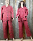 Lee Valley Pyjama Red Tartan - Das original aus Irland