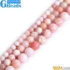 """Natural Pink Opal Round Beads For Jewelry Making Free Shipping Strand 15"""" 6-10mm"""