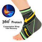 Ankle Brace Support Sports Pain Relief Compression Stabilizer Foot Wrap X strap $7.99 USD on eBay