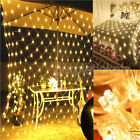 Led Mesh Net Lights String Fairy Lights Wedding Party Outdoor Garden Home Decor