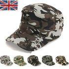 Unisex Camo Baseball Cap Catton Hiking Outdoor Hats Comfortable Adjustable Cap