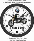 2019 BMW R NINE T ONE MOTORCYCLE WALL CLOCK-TRIUMPH, DUCATI, APRILIA, HONDA $28.99 USD on eBay