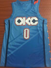 Oklahoma City Thunder 0 Russell Westbrook City Edition Basketball Jersey