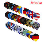 30pcs Professional Darts Wing Tail Indoor Game Dart Flights PET Dart Accessories