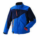 NEW POLARIS MENS THROTTLE SNOWMOBILE JACKET | BLUE | L XL | 286991209