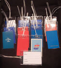 Luggage tag United Airlines w/playing card choose from multiple designs