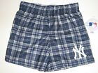 New York Yankees Team Color Plaid Flannel Boxer Shorts - Child & Youth Sizes on Ebay