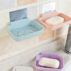 Seamless Pasting Wall-mounted Hollow Smile Face Soap Box Holder Bathroom 32