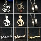Mother's Day Gift Mom Baby Stainless Steel Necklace Pendant Women Family Jewelry