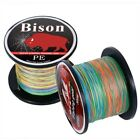 4 Strands Braided Fishing line 100m Multi Color Multifilament PE Braid Line
