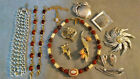 Huge Lot Vintage Sarah Coventry Jewelry Necklace, Pins, Sets, Necklaces SALE
