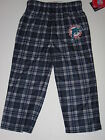 Miami Dolphins Team Colored Plaid Flannel Sleep Pants - Child & Youth Sizes on eBay