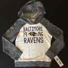NWT NFL Baltimore Ravens Girl's Pullover Sweatshirt Hoodie - Small (6/6X) on eBay