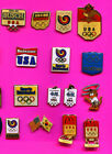 1988 OLYMPIC SEOUL PIN LOT #2 PICK A PIN 1-2-3 OR ALL LOT OF 14 PINS BADGE