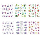 Nail Art Sticker Water Decals Transfer Wraps Stickers Dreamcatchers Feathers