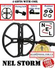 "Coil NEL STORM 13x14"" 38 cm for QUEST Q20 Q40 Metal Detector FREE SHIPPING"