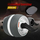 AB Roller Abdominal Exercisers Wheel W/ Knee Pad Workout  Gym Fitness Exerciser image
