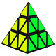 Genorth Triangle Cube Speed Magic Cube Puzzle Twist Toy Game Education for Gift