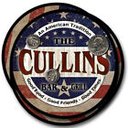 Cullins Family Name Drink Coasters - 4pcs - Wine Beer Coffee & Bar Designs