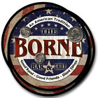 Borne Family Name Drink Coasters - 4pcs - Wine Beer Coffee & Bar Designs